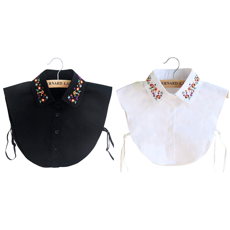 Fashion Insert Collars Blouse Tops Shirt Removable Clothes Fake Collar New LA