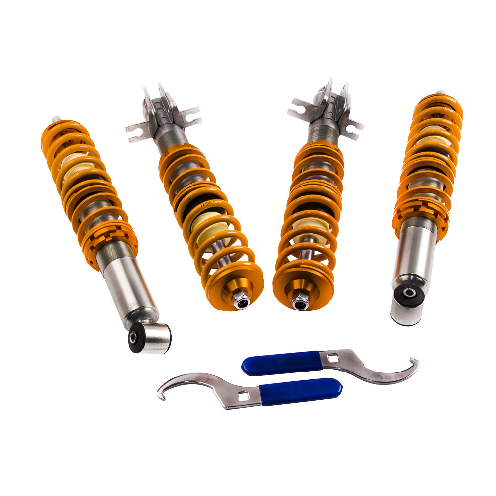 Street Coilover Suspension For Vw Rabbit Pickup Jetta Golf Mk1 2007 Volkswagen Front And Coil Spring Parts Diagram Complete Kit Rear Shocker Strut