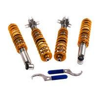 Lowering Suspenion Kit For VW Golf Rabbit MK1 Jetta 75 84 Coilovers Coil Springs 80 84