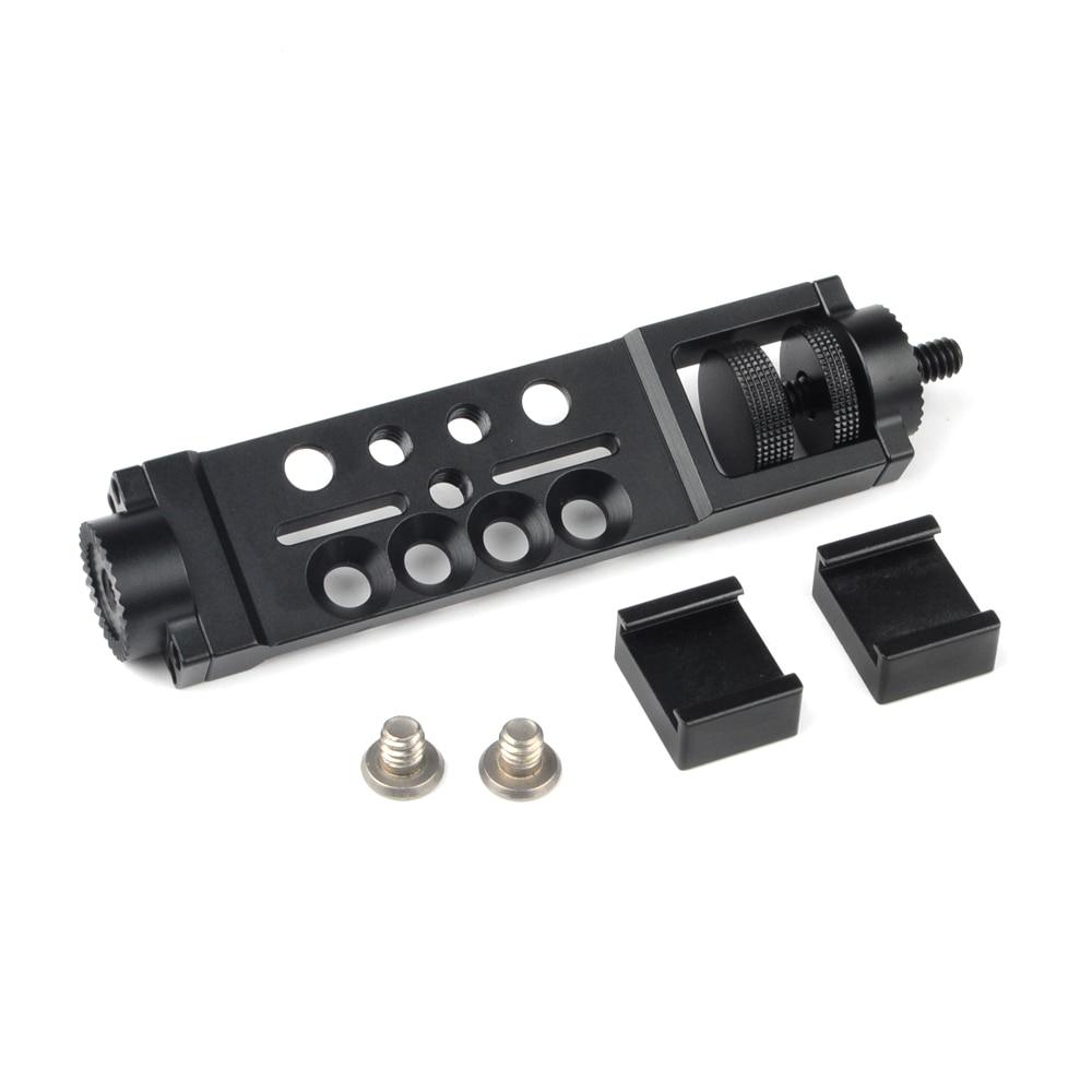 Diligent Aluminum Portable Mini Tabletop Tripod Leg For Dslr Digital Camera Feiyu Osmo Moza Air Handle Gimbal Accessories & Parts