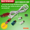 miracle thunder dongle +cable Miracle Thunder pro dongle no need miralce box and key