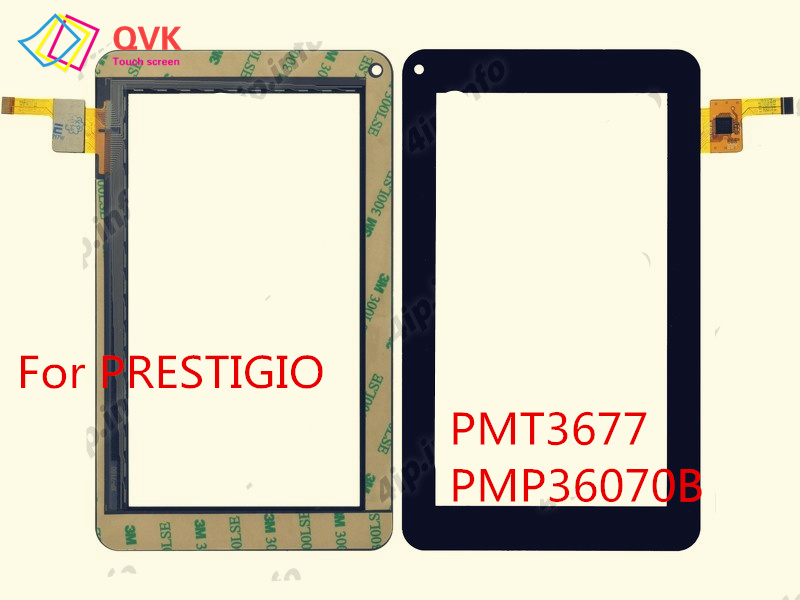 Black For PRESTIGIO PMT3677 PMP3670B PMT5777 PMP3007 PMP5101D PMP1014TE PMP380C PMP7079 Touch Screen Panle