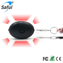 Mini self defense egg alarm system Girl Women Anti-Attack Anti-Rape personal security alarm lound voice with flashlight