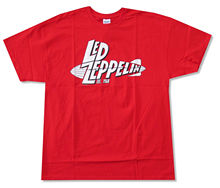 LED ZEPPELIN EST 1968 RED T-SHIRT NEW OFFICIAL ADULT