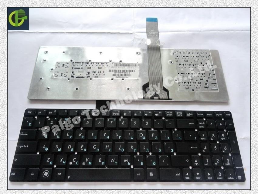 Russian Keyboard for ASUS X751 X751L X751LA X751LAV X751LD X751LDV X751LK X751LN RU Black цена
