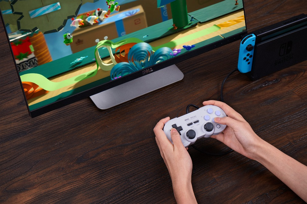 Official 8BitDo Wired SN30 Pro USB Gamepad for Nintendo Switch Windows Raspberry Pi SN Edition 14