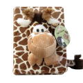 Cute 3D Cartoon Animal Soft Plush Baby Photo Album 6 inch 100 Sheet interleaf Type Scrapbook Album Holder Random Color [ 1 pc ]