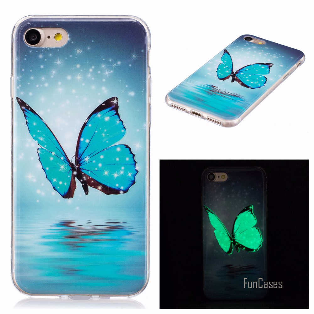 Case sFor coque iPhone 7 Cover Case Silicone Fitted Case For coque fundas iPhone 7 Plus iPhone7 Case Etui Telefoon Hoesjes