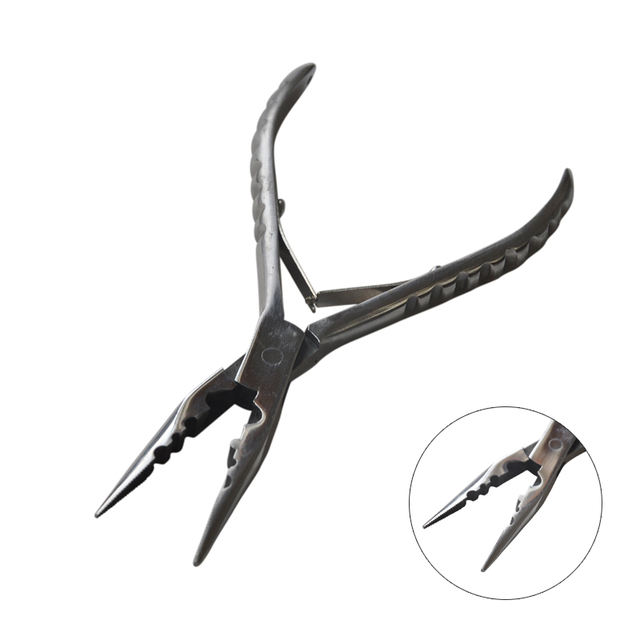 New Style Stainless Steel Hair Extension Pliers for Micro Ring Pre-Bonded Hair Extension Tools
