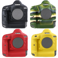 Soft Silicone Rubber Camera Protective Body Case Skin For Canon 1DX II 1DX Mark II 1DX Camera Bag protector cover