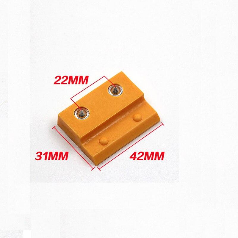 20 Pcs Decoratieve Muur Panel Push Klik Op Quick Fitting Clip Positie Marker Locator Z Clip