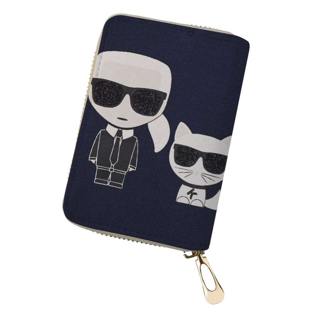 FORUDESIGNS Customized Your Image Card Holder for Women karl lagerfelds Cardholder PU Leather Passport ID Card Case BagFORUDESIGNS Customized Your Image Card Holder for Women karl lagerfelds Cardholder PU Leather Passport ID Card Case Bag