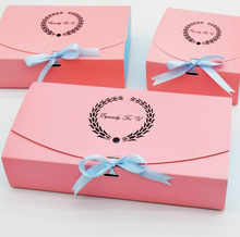 5 pieces/batch of paper powder box, chocolate gift box, pink cake box, gift carton, wedding party, candy box (pink)(China)