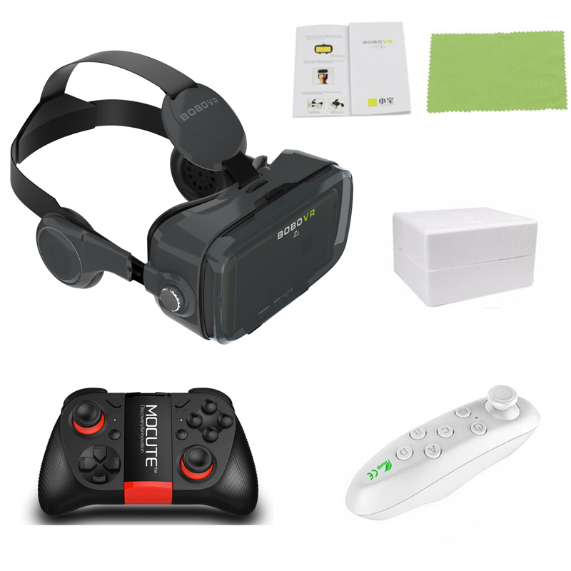 BOBOVR Z4 Leather Helmet 3D Cardboard VR Glasses Virtual Reality VR Glasses Stereo Headset Bobo Vr Box For 4-6 inch Mobile Phone vr box bobovr z5 vr glasses virtual reality goggles 3d glasses google cardboard 2 0 bobo vr headset for 4 0 6 2 smartphone
