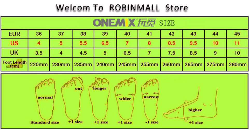 Onemix Brand 16 New Sports Running Shoes Sneakers for Men and Women Outdoor Walking and Running Breathable Good Quality 4