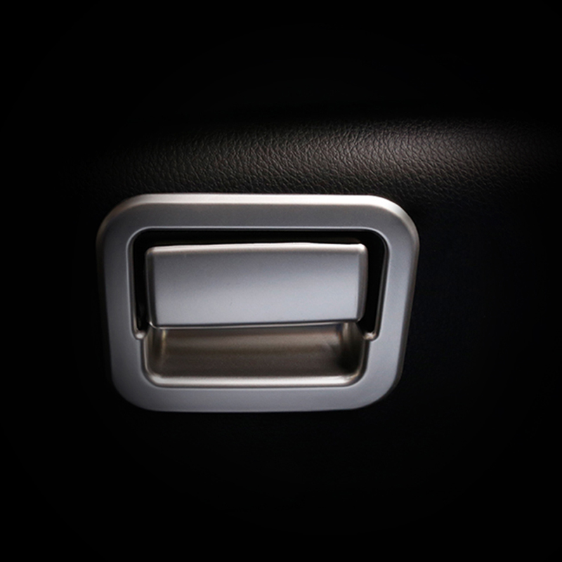 Car Styling For TOYOTA RAV4 <font><b>RAV</b></font> <font><b>4</b></font> 2016 2017 <font><b>2018</b></font> Interior The co-pilot Glove Box Switch Decoration Cover Trim image
