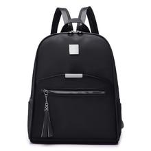 brand women waterproof backpack Oxford cloth school bags students travel shoulder bag for teenage girls