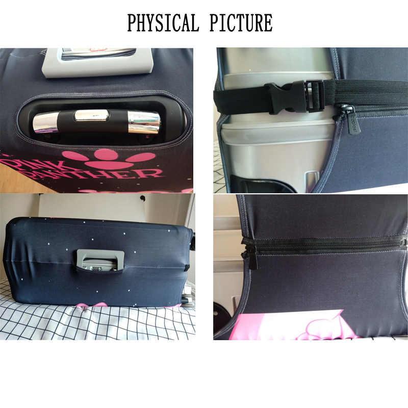 Funda protectora de equipaje elástica para maleta cubierta protectora fundas de carro Fundas de viaje 3D accesorios brother Pattern T