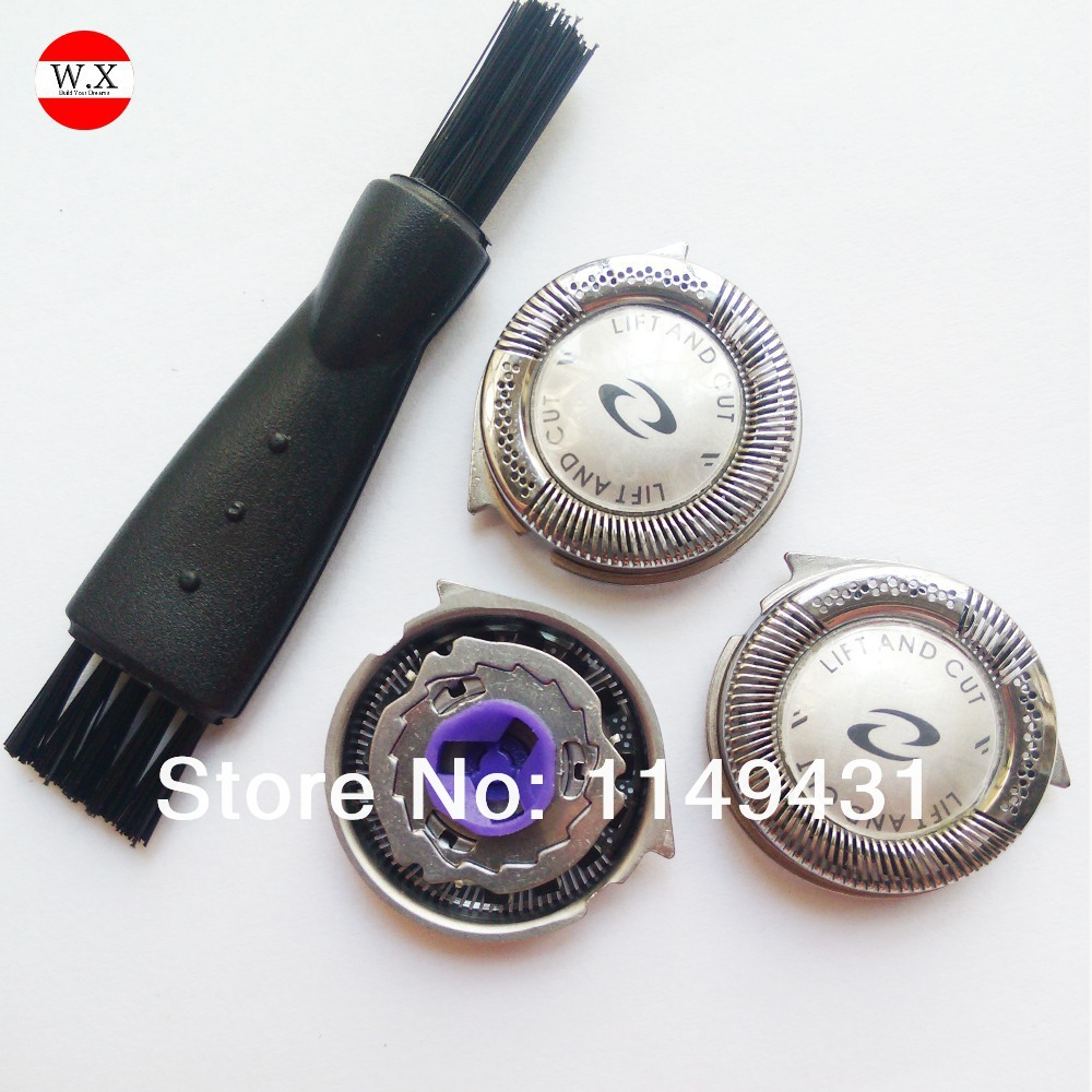 3pcs Replacement Shaver Head For HQ8 HQ6075 HQ7120 PT735 PT860 PT880 PT870 AT890 8895XL 8894XL 8892XL 8890XL  Free Shipping