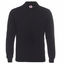 New Brand Men Polos Shirt Mens Fashion Collar Hombre Shirts Casual Cotton Long Sleeve Polo Shirts Slim Fit Men Polo Homme