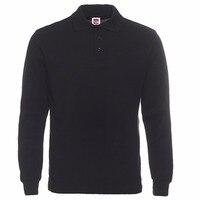 New Brand Men Polos Shirt Mens Fashion Collar Hombre Shirts Casual Cotton Long Sleeve Polo Shirts