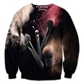 5XL Sweatshirt 3D Print Makeup Brushes/Egyptian Hieroglyphics/The Hunger Games/Galaxy Tree Moon Sweatshirts Hoodies Causal Tops