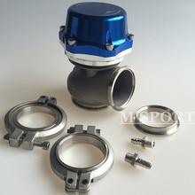 Новые гоночные PRO-GATE 50 мм Внешние мусорные ворота 21PSI универсальные комплекты~ синий