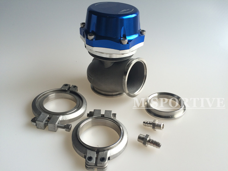 New Racing PRO-GATE 50mm External Wastegate 21PSI Universal Kits ~ BLUE racing pro racing pro 5 0