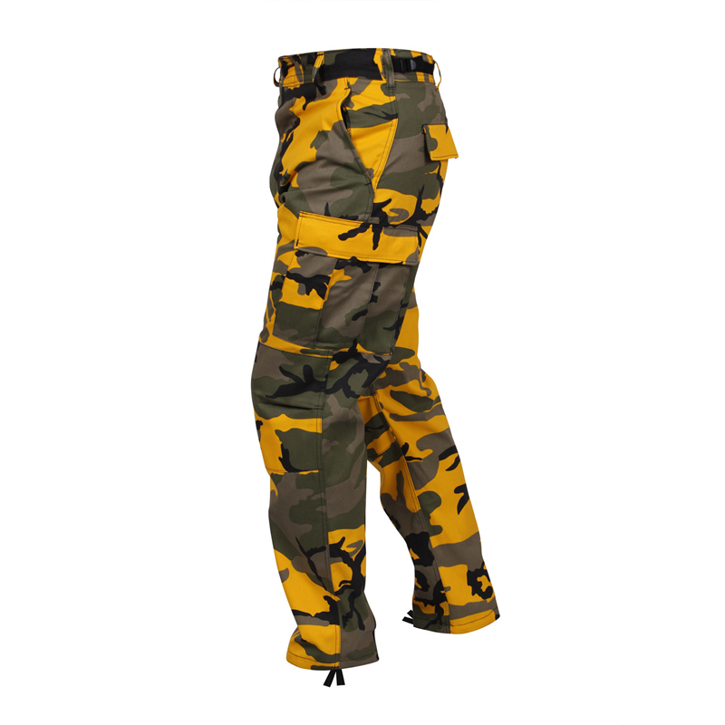 Lightweight camouflage tactical military army women new style boys cotton cargo 6 pocket workwear korea pants Combat trouser men