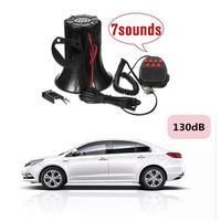 New Arrival Loud 12V 100W 7 Sounds Tone Horn Siren Speaker Alarm For Car Van Truck