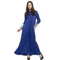 Long evening dress muslimah arab female dress pakistan muslim-wear malaysian clothing muslim abaya maxi dresses