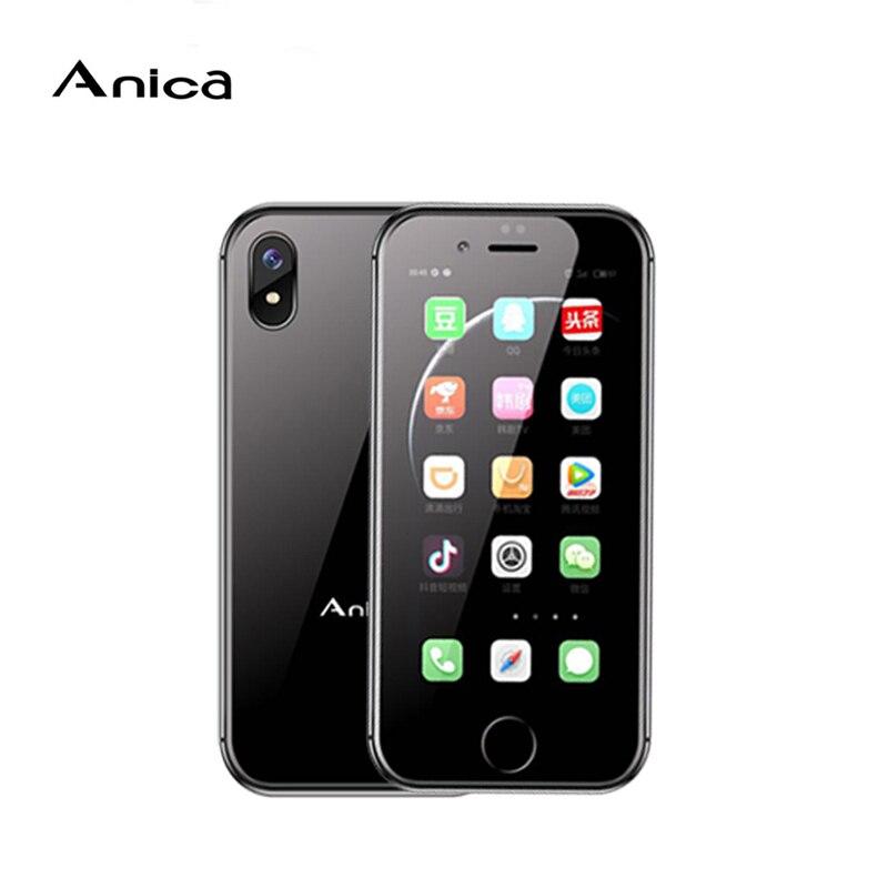 Фото. Оригинальный мини-смартфон Anica i8 2,45 дюйм Android 6,0 WCDMA 3g мобильный телефон WiFi gps д
