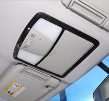 Indoor roof lights cover reading lamp sticker decorative trim for nissan patrol Y62 interior Accessories