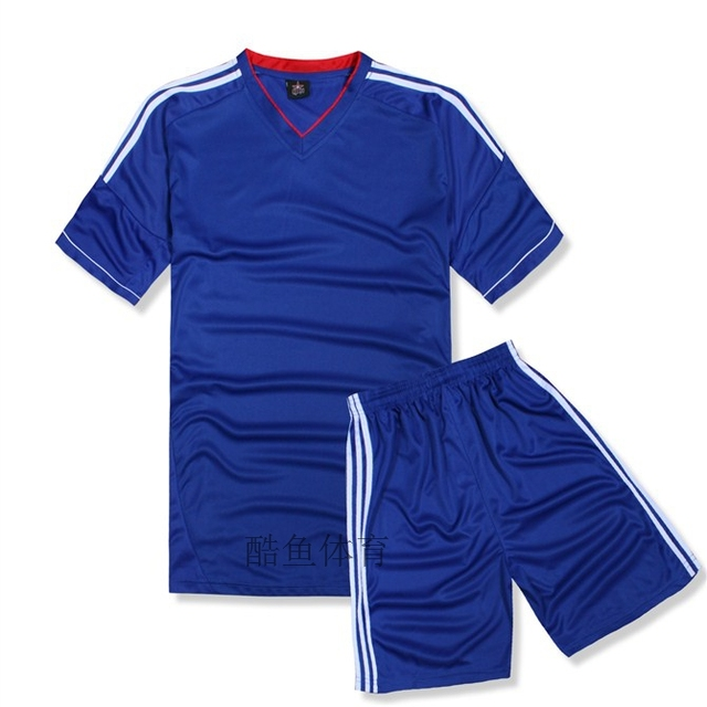 separation shoes fb532 75208 Plain breathable quick drying short sleeve jersey set jersey soccer jersey  diy youth football jerseys wholesale free shipping-in Soccer Jerseys from  ...