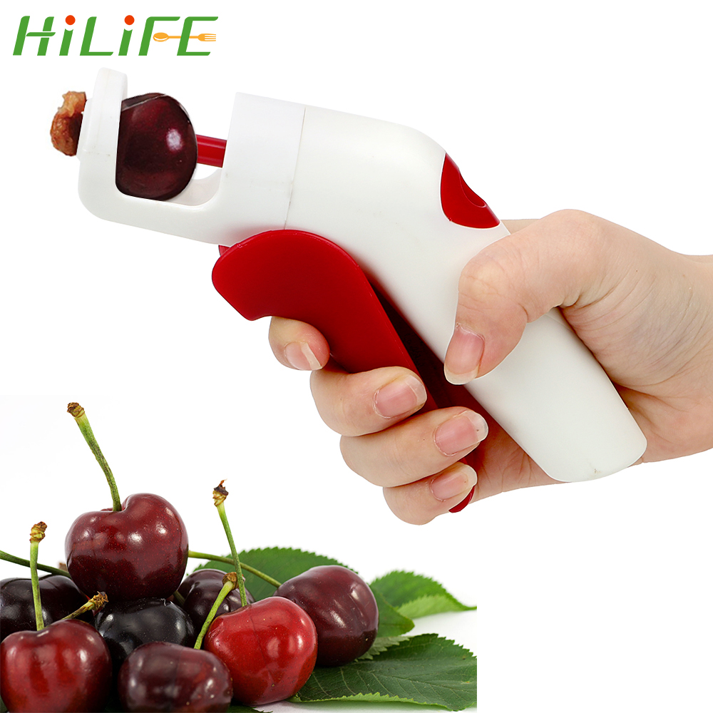 Stainless Steel Cherry Pitter Cherries Fruit Core Seed Handheld Remover Tools S