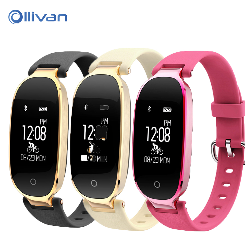 Ollivan S3 Smartband IP67 Waterproof Smart Bracelet Heart Rate Monitor Sports Fitness Tracker Wristband Special For