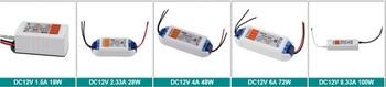 цена на 10pcs 2020 NEW 10pcs/lot LED Driver Power Supply Transformer AC90-240V DC12V 100W 72W 48W 28W 18W