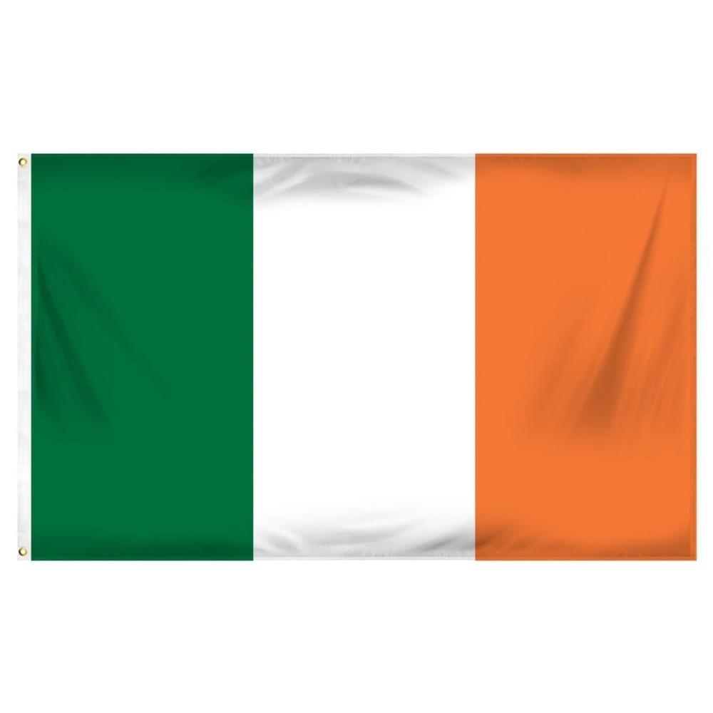 Yehoy Hanging 90*150cm Green White Orange IRE IR IRISH