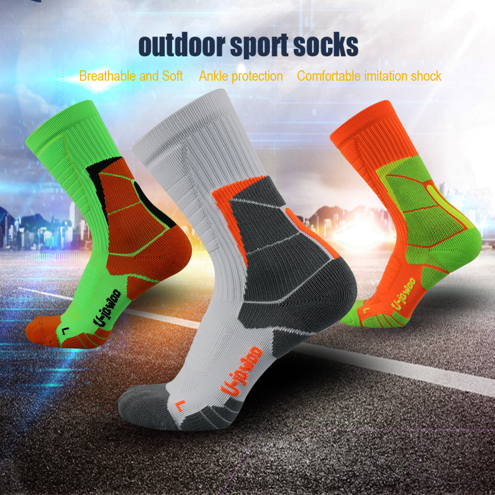 UG Football Socks Boys Soccer Sock Cycling Socks Long Soccer Stockings Men Over Knee High Sock Calcetines Ciclismo