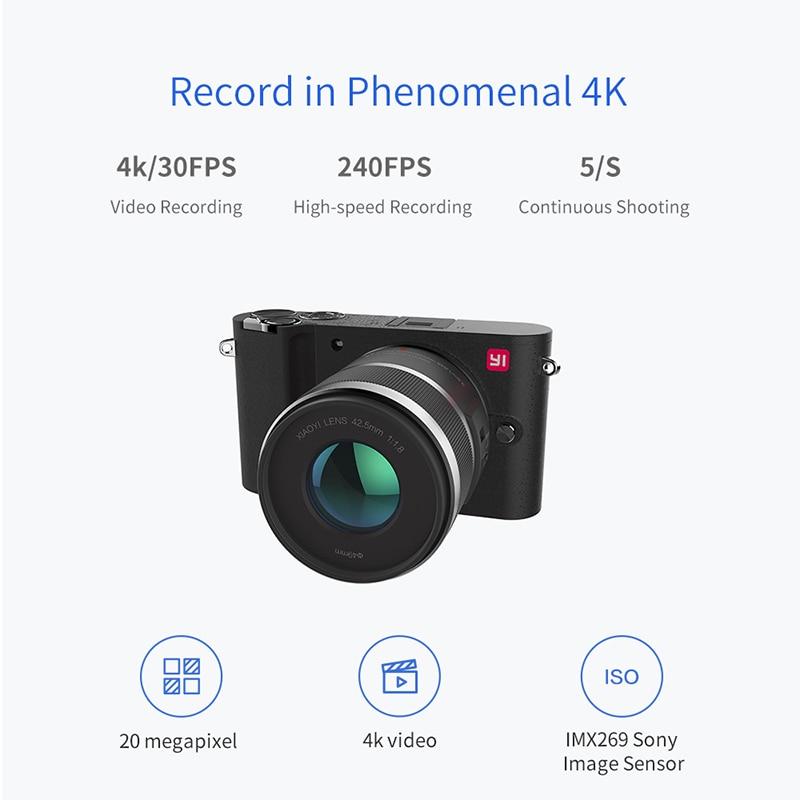 YI M1 Айнадай сандық фотокамерасы Prime Zoom - Камера және фотосурет - фото 3