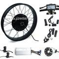 "CE Aprobó, 26 ""x 4.0 Fat bike kit 48 V 1000 W kit de conversión de la bici de grasa eléctrica con display LCD"
