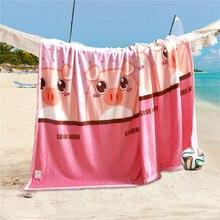 Удобные мягкие мультфильм милый розовый поросенок рисунком Одеяло Мода жизнь большой Размеры 200×230 см машинная стирка дышащий