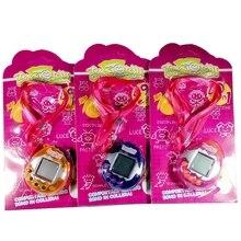 1 PC LCD Virtual Digital Pet Handheld Electronic Game Machine Toy With Lanyard цены онлайн
