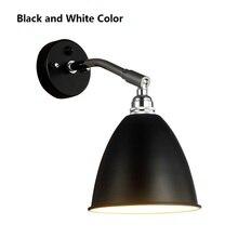 Christmas Replica Designer BL7 Led Wall Lights Indoor For Home Reading Arm Adjustable Wandleuchte 110-220V Loft Wall Lamp Nordic