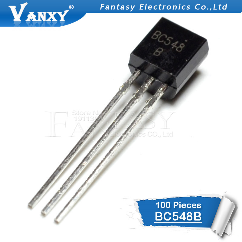 100PCS BC548B TO-92 BC548 TO92 548B New Triode Transistor