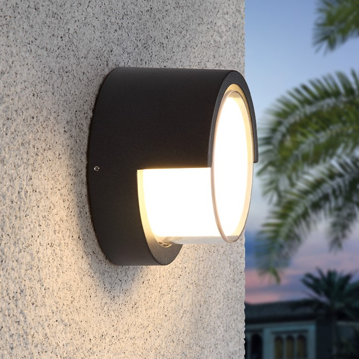 цены Outdoor Led Wall Light Black Wall Lamp For Garden Porch Hall Porch Walkway Living Room Light Fixture Wall Sconce 10W