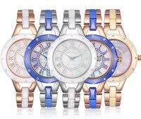 New Arrived MELISSA Women Bracelet Watches 100 Real High Tech Ceramic Wrist Watch Vintage Roman Relogio