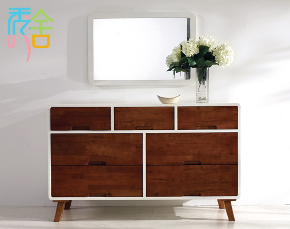 Show Homes Korean Sideboard Ikea Living Room Furniture Nordic Japanese Minimalist Modern Solid
