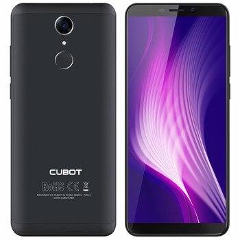 Cubot NOVA MT6739 Quad Core 18:9 Screen Smartphone Android 8.1 5.5 Inch Mobile Phone 3G RAM 16G ROM 2800mAh 13MP 4G Cell Phone