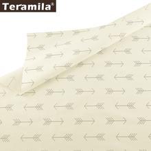 Teramila напечатанные стрелки 100% хлопок саржевая ткань метры